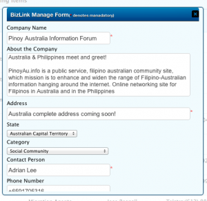 admin to modify user submitted content